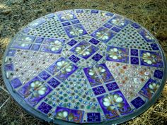 We love this mosaic table!