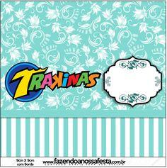 Lindo Kit Azul Tiffany com várias molduras, convites, rótulos e imagens para você imprimir em casa de graça!