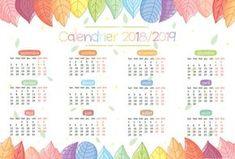 calendrier 2018-2019 School Organisation, Teacher Organization, Bullet Journal Année, E 10, Happy Planner, Bujo, How To Plan, Jouer, Ireland