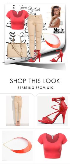 """""""SheIn 4"""" by dinka1-749 ❤ liked on Polyvore featuring Michael Kors"""