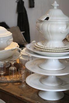 white china