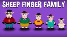 The Finger Family Sheep Family Nursery Rhyme Finger Family Rhymes, Family Songs, Kids Songs, Mommy Finger, Finger Family Collection, Kids Nursery Rhymes, Sheep, Watch, Children
