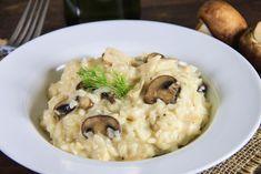 Risotto de poulet aux champignons Weight Watchers, recette d'un délicieux plat complet facile et simple à réaliser pour un repas du soir léger et rapide.