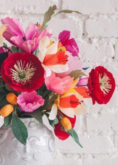 Cinco de Mayo Paper Wedding Bouquet