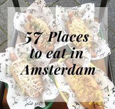 "This was going to be an ""Ultimate Amsterdam Bucket List"" but the next thing you know this post became a list of 57 Places to Eat in Amsterdam. #ALLTHEFOOD"