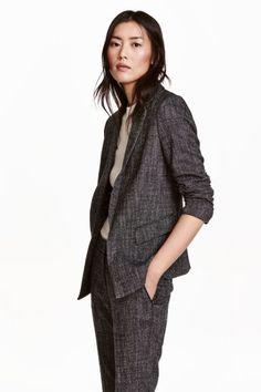 Marled blazer   H&M