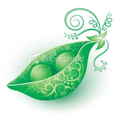 two peas in a pod tattoo design
