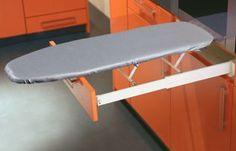 Bügelbrett Ironfix für Montage hinter Schubkastenfront