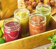 smoothie zo zeleniny a ovocia Juice Smoothie, Smoothies, Fruit Juice, Smoothie Detox, Dieta Detox, Nutribullet, Salsa, Food And Drink, Weight Loss