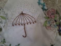 Embellishment for garden quilt
