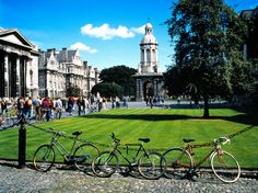 Trinity College sits on over forty acres of space in the center of Dublin city, surrounded on all sides by high wrought iron fencing. As soon as you enter through the giant wooden door, the city noises fade away. You can take a guided (paid) tour hosted by Trinity College history majors, or simply wander your way through the grounds, visiting the campus art gallery and even catching a cricket match on a Sunday afternoon.