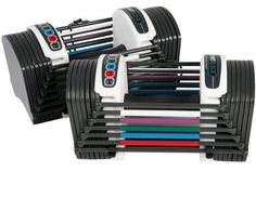 Powerblock Dumbbells Adjustable Weights Set Power Block GF-SPDBLK24 SpeedBlock #PowerBlock