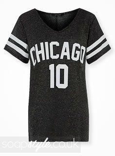 EastEnders Lauren Branning // Jacqueline Jossa // Lauren's Chicago 10 Tee - 12th May '14 [ Click photo for details ❤ ]