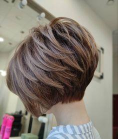 Short Stacked Bob Haircuts, Bob Hairstyles For Thick, Haircut For Thick Hair, Cool Hairstyles, Stacked Bob Short, Short Stacked Wedge Haircut, Wedge Bob Haircuts, Best Bob Haircuts, Thin Hair