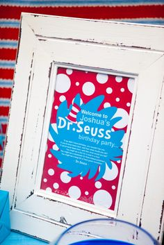 Dr Seuss Door Sign at SunshineParties on #Etsy.....Love these!!! #DrSeussDoorSign #DrSeussPartyPrintables