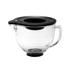 KitchenAid Glass Mixing Bowl w/ Silicone Lid 4.7L - On Sale Now!