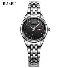 Watches Quartz Watches Industrious Brand Fashion Gold Mesh Quartz Watch Women Metal Stainless Steel Dress Watches Relogio Feminino Gift Clock Relojes Hombre 2017