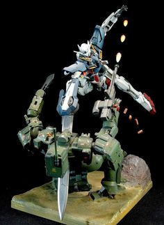 HG 1/144 Gundam Exia VS Tieren Diorama Build - Gundam Kits Collection News and Reviews