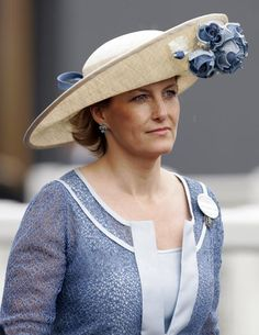 6/17/2009: Sophie, Countess of Wessex attends Day 2 of Royal Ascot (Ascot, Berkshire)
