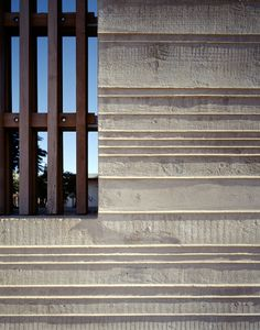 Concrete wall of the Netherlands Embassy in Maputo by Claus en Kaan Architecten Concrete Facade, Concrete Architecture, Concrete Forms, Concrete Texture, Exposed Concrete, Architecture Design, Concrete Walls, Concrete Structure, Facade Design