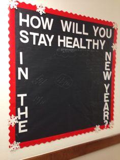 Health aid bulletin board