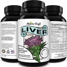Liver Supplements with Milk Thistle - Artichoke - Dandelion Root Support Healthy Liver Function