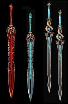 Fantasy Blade, Fantasy Sword, Fantasy Armor, Fantasy Weapons, Dungeons And Dragons Homebrew, D&d Dungeons And Dragons, Armor Concept, Weapon Concept Art, Beautiful Fantasy Art