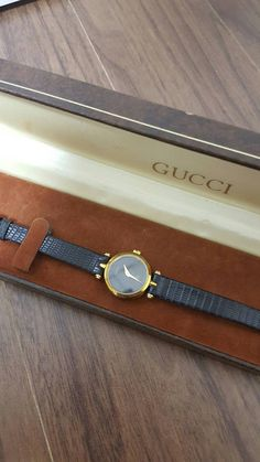 Check out this item in my Etsy shop https://www.etsy.com/listing/493683005/gucci-vintage-womens-watch-good-working