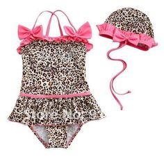 inlzdz Baby Girls One Shoulder Floral Ruffles Tankini Set Swimsuit Swimwear Summer Beachwear