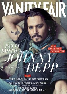 Johnny Depp . . . the skull tattoo was designed by my husband for the Pirates 4 movie. Johnny liked it so much he made it permanent.