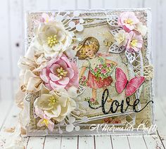 A Mermaids Crafts: Valentine's Day and Birthday Cards for Lemoncraft