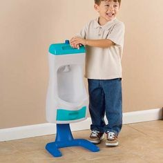 Toddler Urinal - Think this would actually get him interested in potty training.