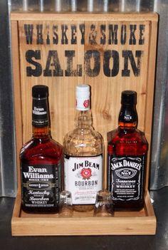 Whiskey Bar Back Liquor Display Compact Bar Cedar Rustic Man Cave