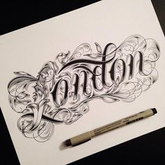 Hand Lettering Typography by Raul Alejandro  https://www.behance.net/raulalejandro