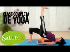 Clase de Yoga COMPLETA para PRINCIPIANTES | Yoga para la Salud | Salud180 - http://www.bestyogavideosonline.com/clase-de-yoga-completa-para-principiantes-yoga-para-la-salud-salud180/