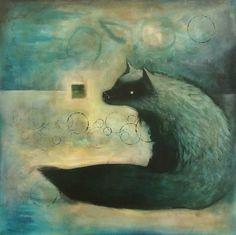 Fox Dog Spirit by SethFitts.deviantart.com on @DeviantArt