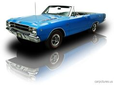 1968 Dodge Dart GTS Convertible 340 V8 - Car Pictures