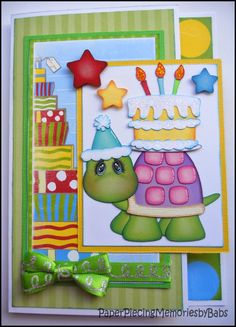 I didn't do much paper piecing today and decided to make a card instead. I saw this card design over at CardMaker and had to make one! The p...
