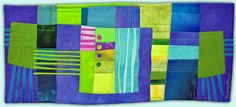 Melody Johnson: Art Quilts - Galleries - Urban Landscapes - her quilts are so colorful and complex. Nice!