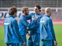 Zlatans hyllning till kompisen Mellberg