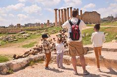 Ruins of Jerash in Jordan - Amor for Travel