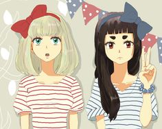Shiemi and Izumo