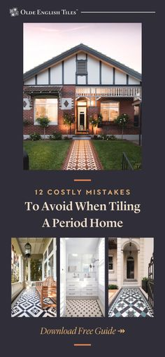 Learn the twelve easy to make mistakes that can result in a renovation gone wrong and thousands of dollars down the drain. Bungalow Exterior, Bungalow Homes, Craftsman Bungalows, Victorian House Interiors, Victorian Homes, Front Door Handles, Melbourne House, Brick Colors, Boho Home