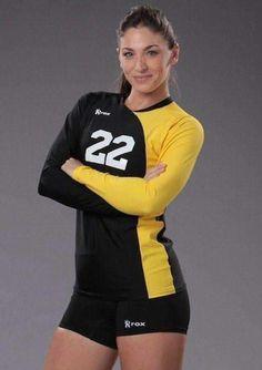 30cf3fac39 nikoo 2014 de nuevo diseño elástico sublimada uniforme de voleibol ...