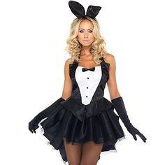 Halloween Women s Sexy Tux Costume 69d42a802f45