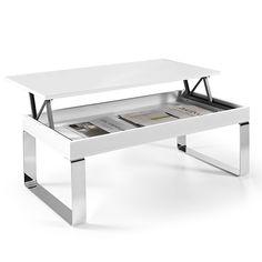 Mesa elevable Luga lacado brillo - 133,30 €
