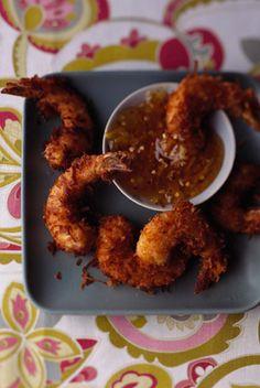 The Deen Bros Coconut Fried Shrimp
