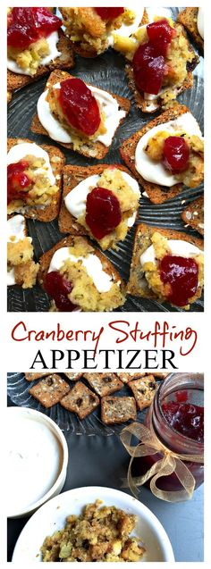 Etiquette tips for ending a party with style and grace, with a delicious Cranberry Stuffing Appetizer
