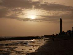 Canary Islands Photography: Atardecer en el Faro de Maspalomas Gran Canaria