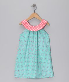 Teal & Pink Emily Dress - Infant, Toddler & Girls by It's A Girls World! on #zulilyUK today!